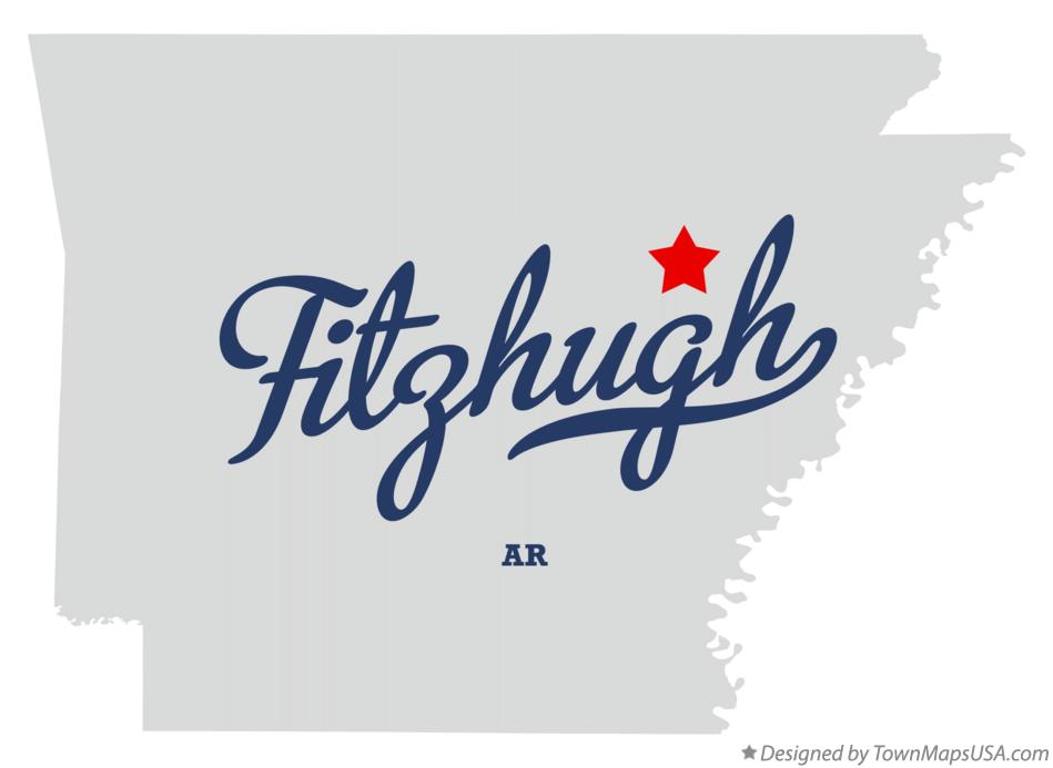 Map of Fitzhugh Arkansas AR