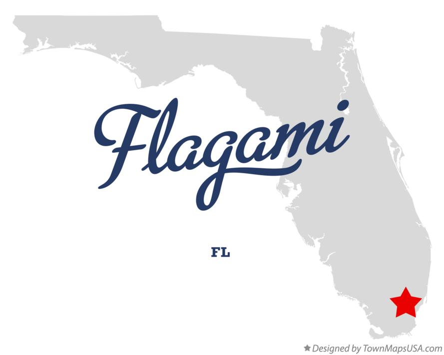 Map of Flagami Florida FL