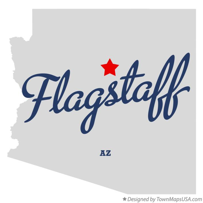 Map Of Flagstaff Arizona.Map Of Flagstaff Az Arizona