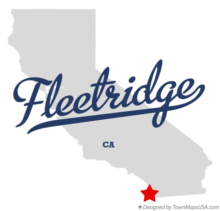 Map of Fleetridge California CA