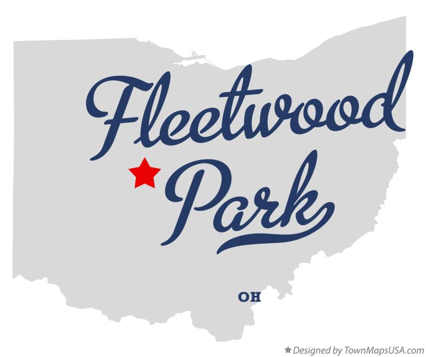 Map of Fleetwood Park Ohio OH