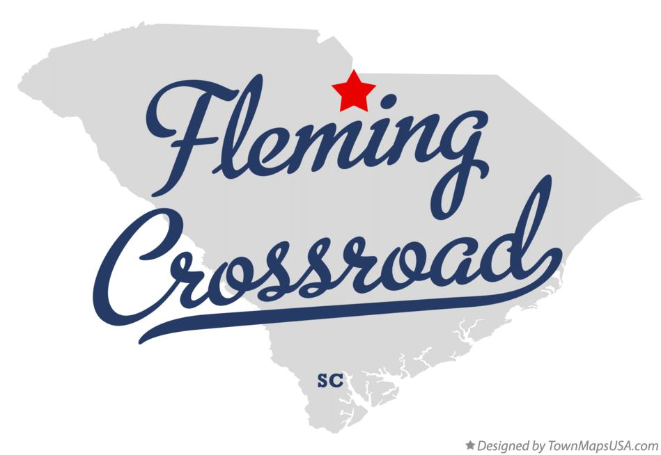 Map of Fleming Crossroad South Carolina SC