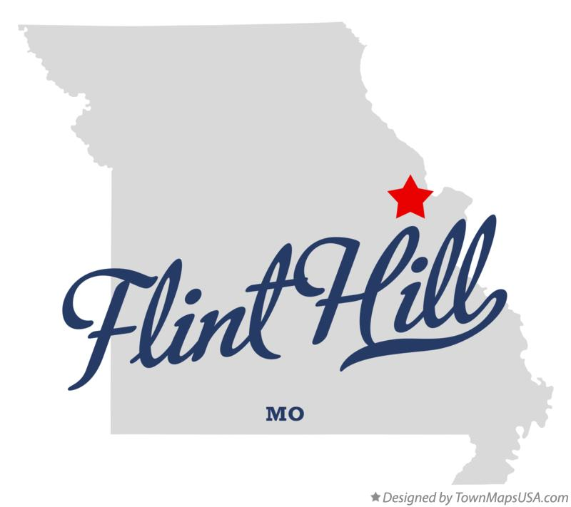 Map of Flint Hill Missouri MO