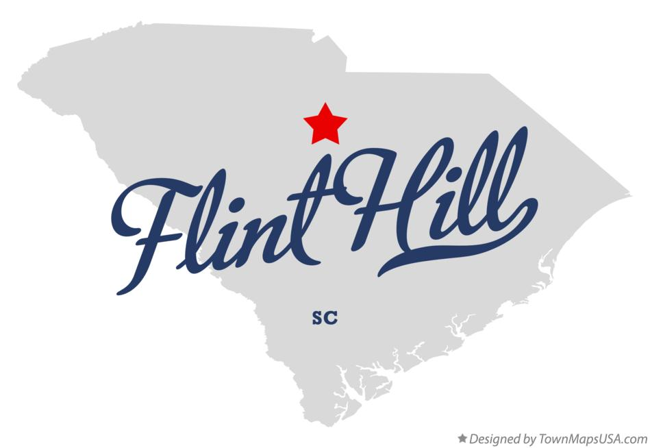 Map of Flint Hill South Carolina SC