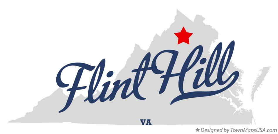 Map of Flint Hill Virginia VA