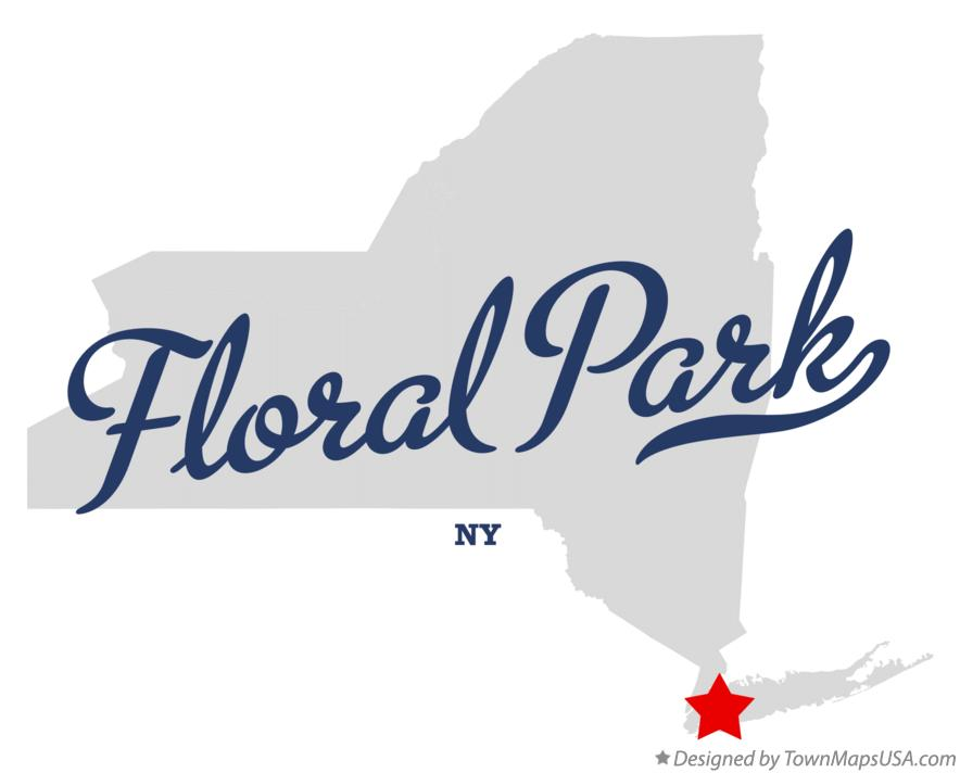 Map of Floral Park New York NY
