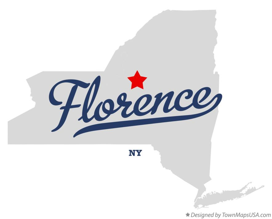 Map of Florence New York NY