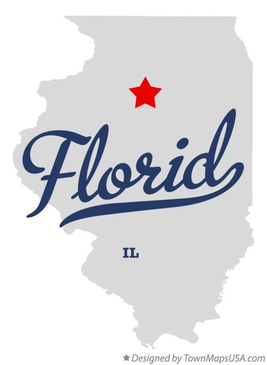 Map of Florid Illinois IL