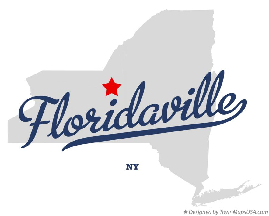 Map of Floridaville New York NY