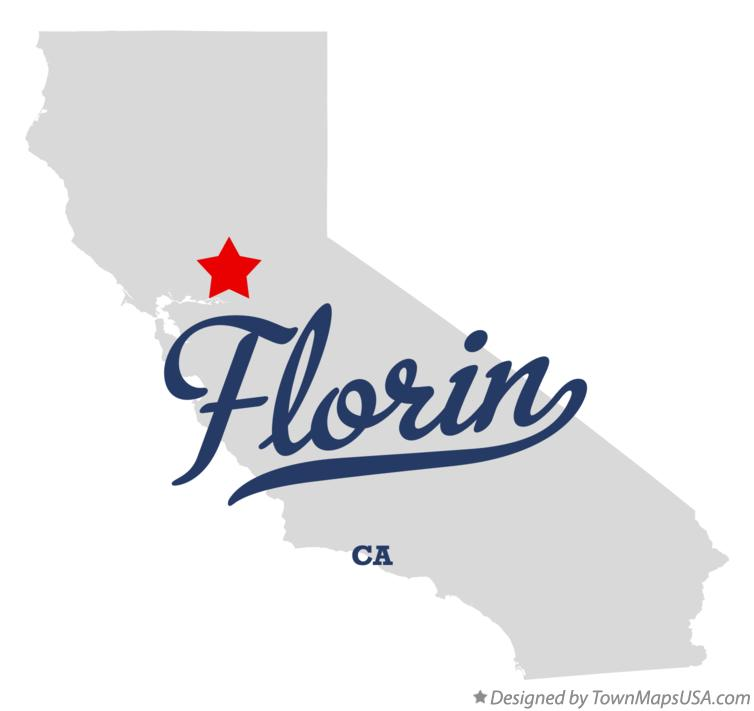 Map of Florin California CA