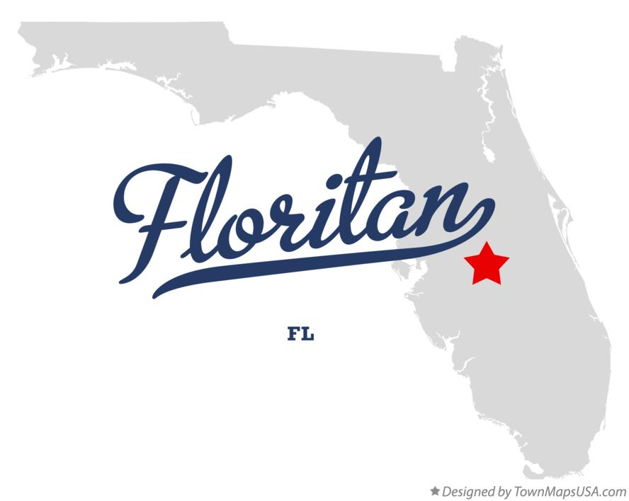 Map of Floritan Florida FL