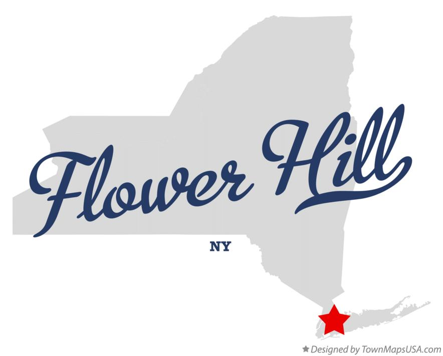 Map of Flower Hill New York NY