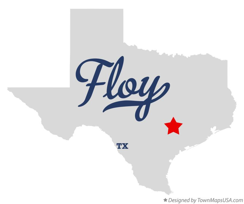 Map of Floy Texas TX