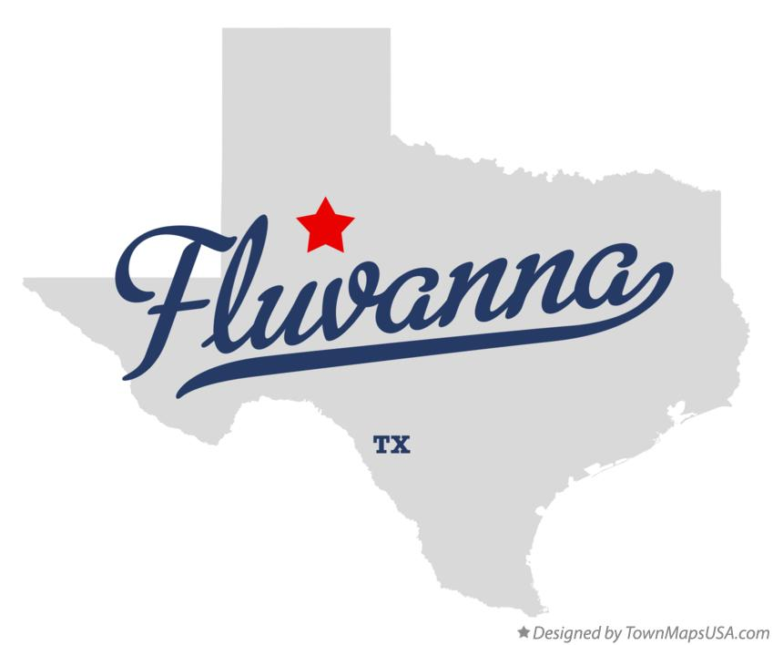 Map of Fluvanna Texas TX