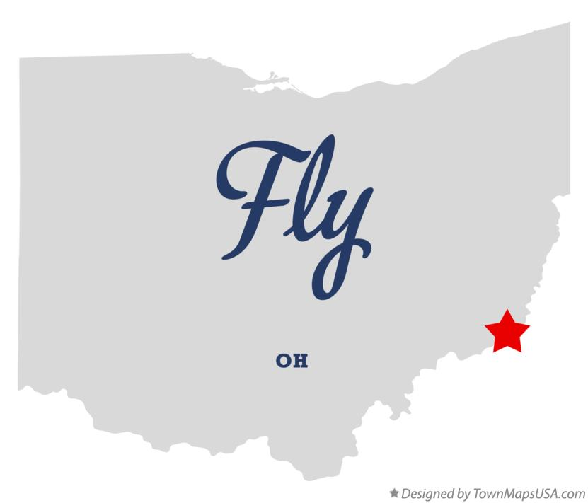 Map of Fly Ohio OH