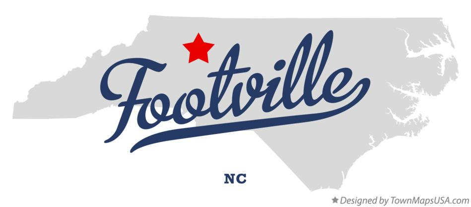 Map of Footville North Carolina NC