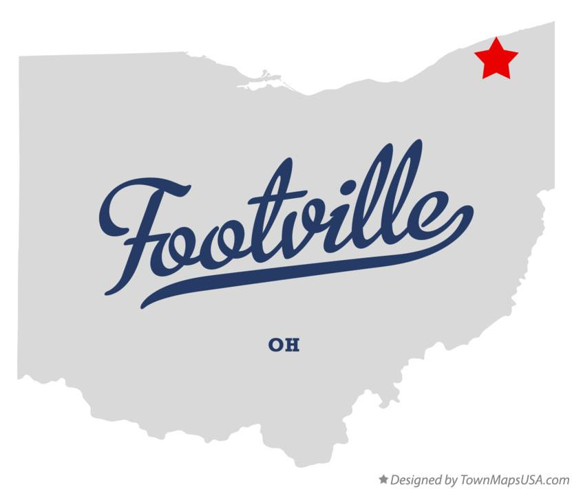 Map of Footville Ohio OH