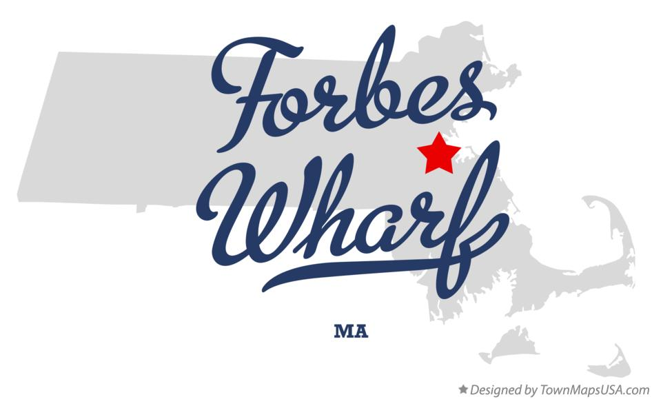 Map of Forbes Wharf Massachusetts MA