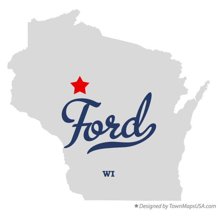 Map of Ford Wisconsin WI