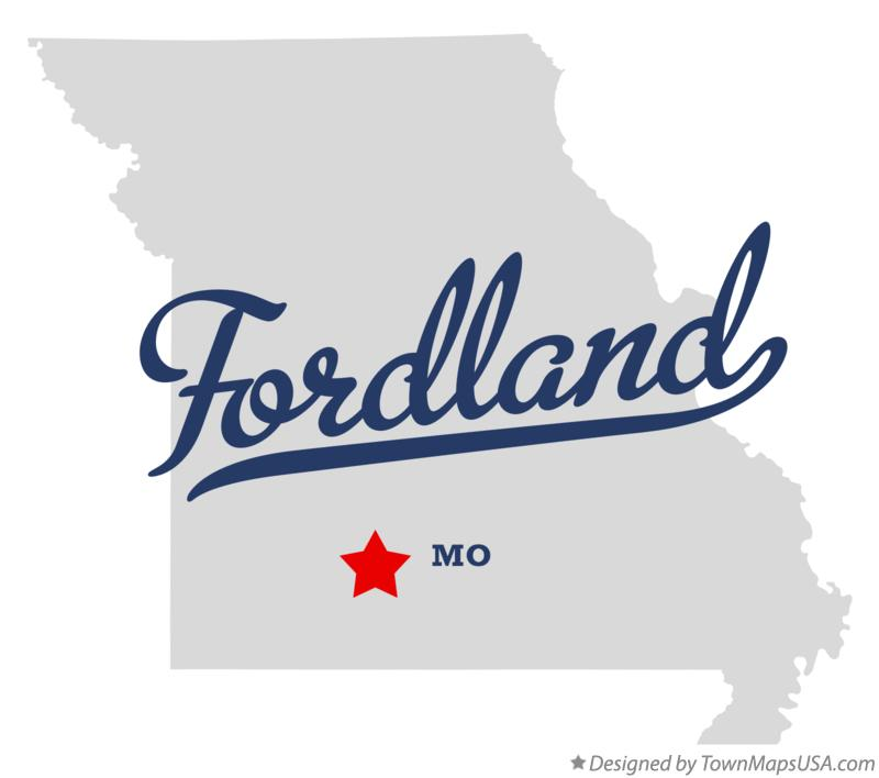Map of Fordland Missouri MO