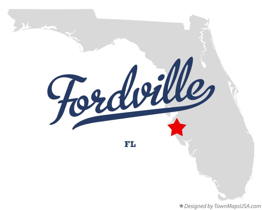 Map of Fordville Florida FL