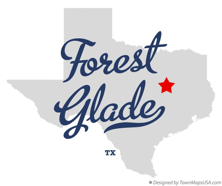 Map of Forest Glade Texas TX