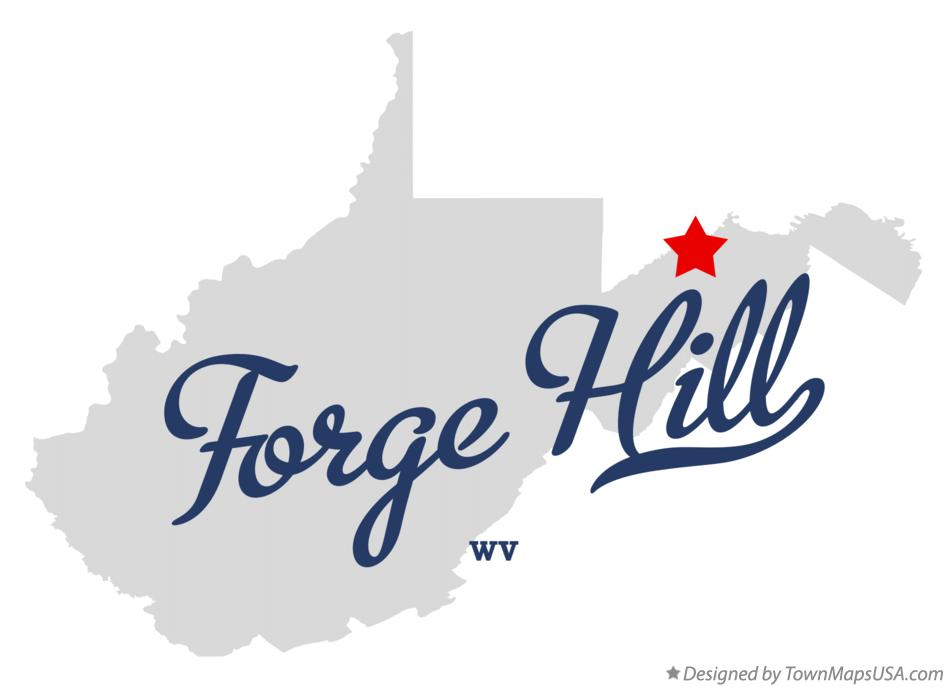 Map of Forge Hill West Virginia WV