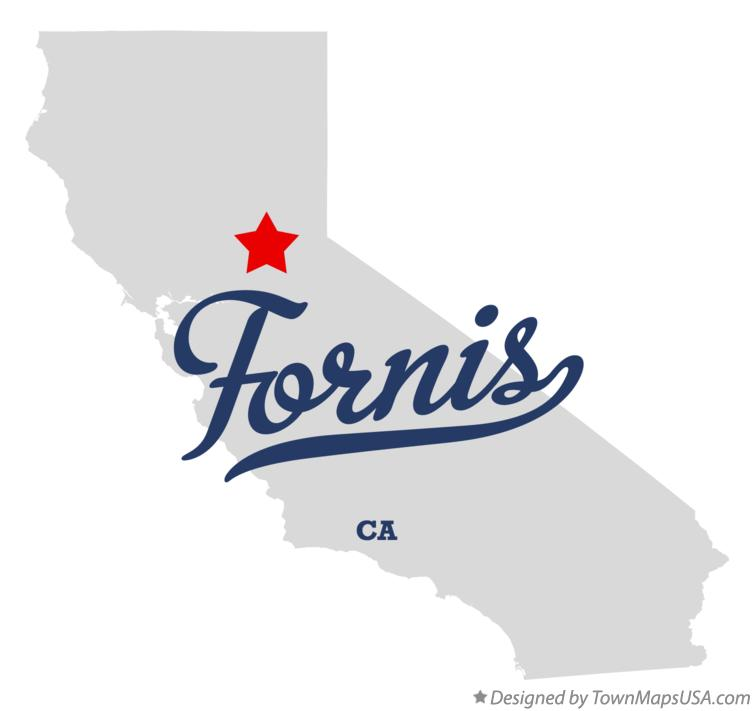 Map of Fornis California CA