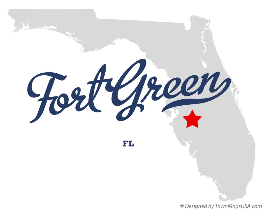 Map of Fort Green Florida FL