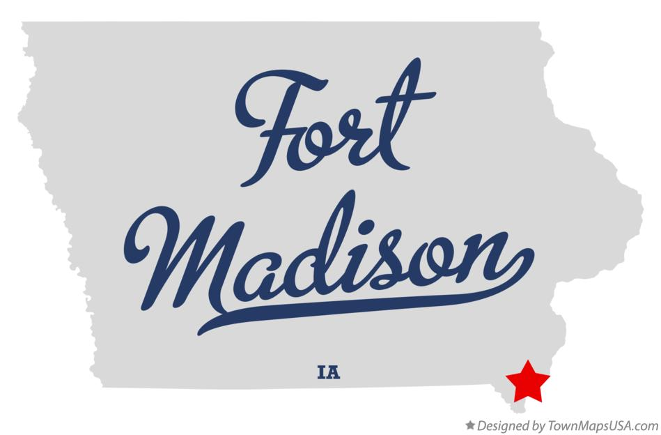 fort madison iowa map Map Of Fort Madison Ia Iowa fort madison iowa map