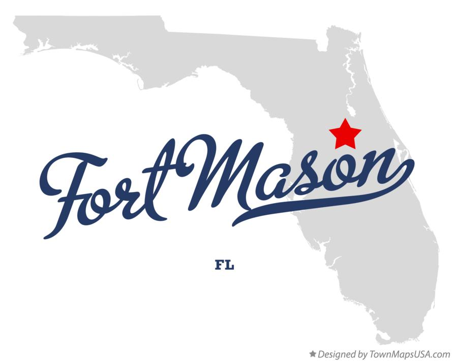 Map of Fort Mason Florida FL