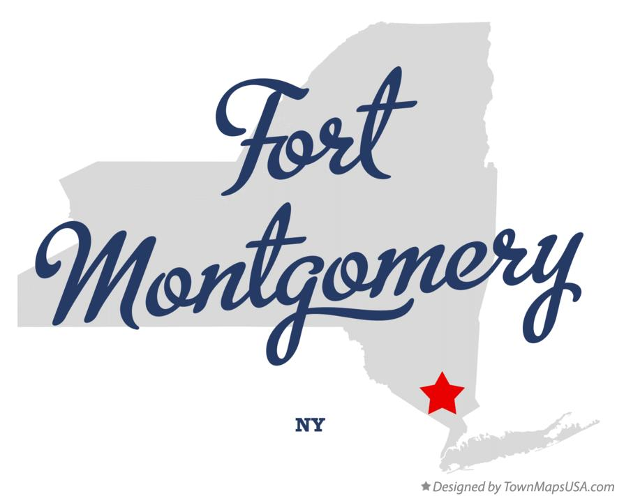 Map of Fort Montgomery New York NY