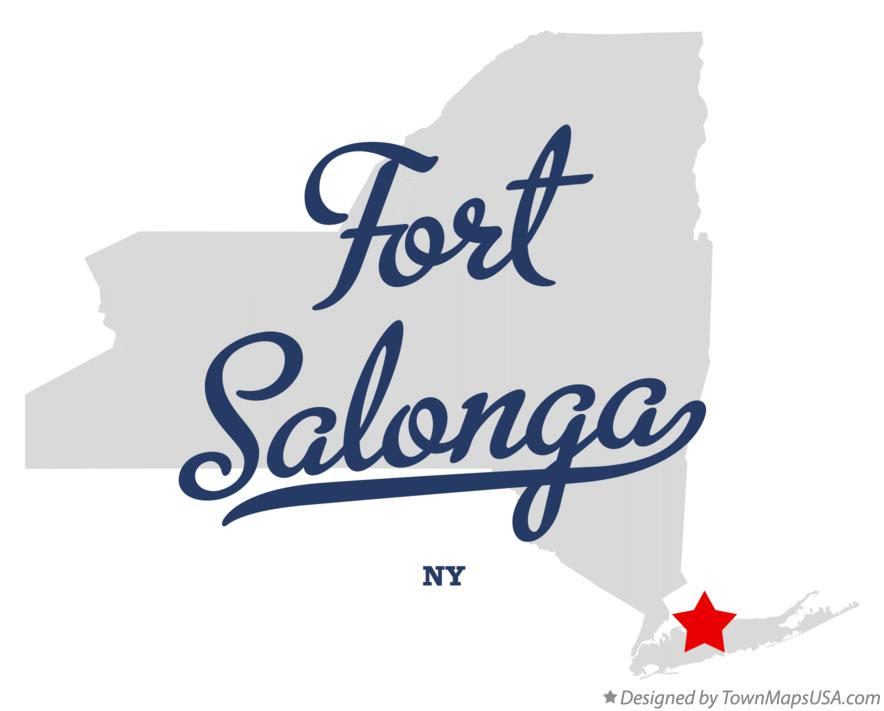 Map of Fort Salonga New York NY