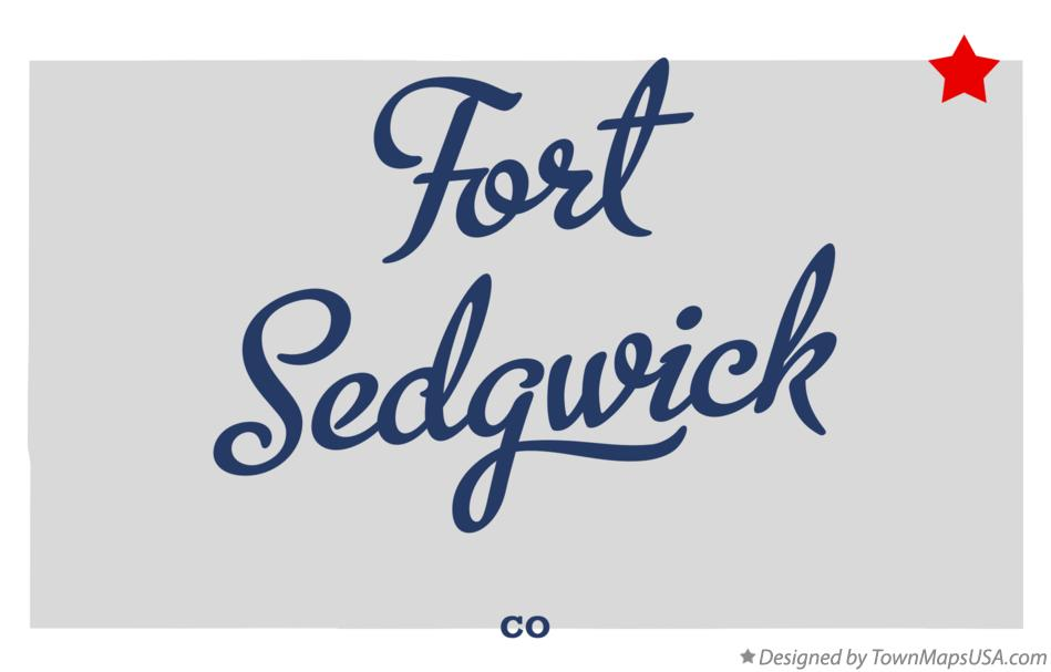 Map of Fort Sedgwick Colorado CO