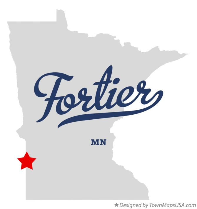 Map of Fortier Minnesota MN