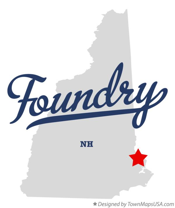 Map of Foundry New Hampshire NH