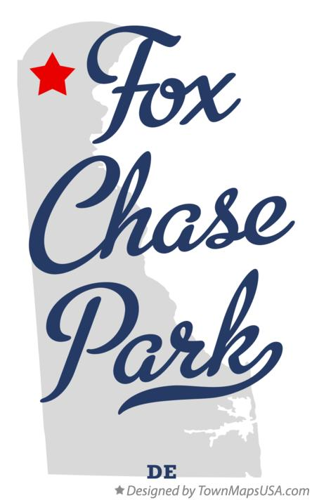 Map of Fox Chase Park Delaware DE