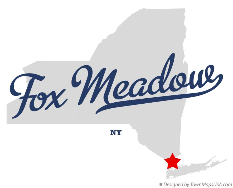 Map of Fox Meadow New York NY