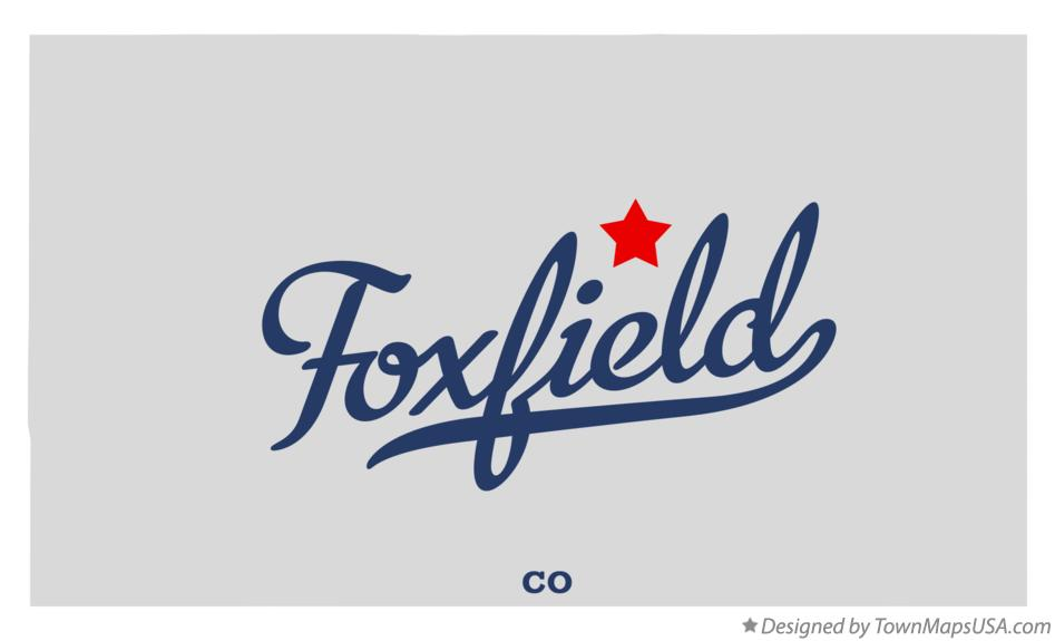 Map of Foxfield Colorado CO