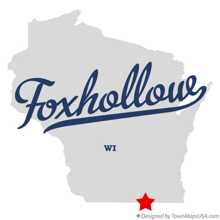 Map of Foxhollow Wisconsin WI