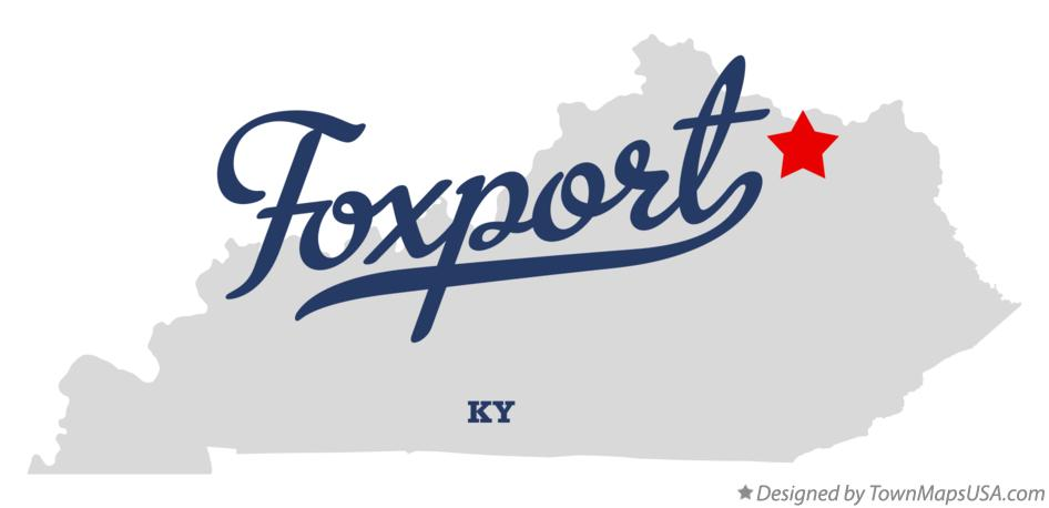 Map of Foxport Kentucky KY