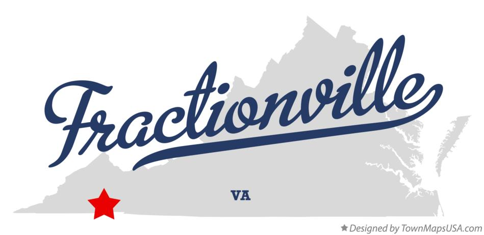 Map of Fractionville Virginia VA