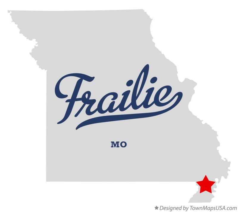 Map of Frailie Missouri MO