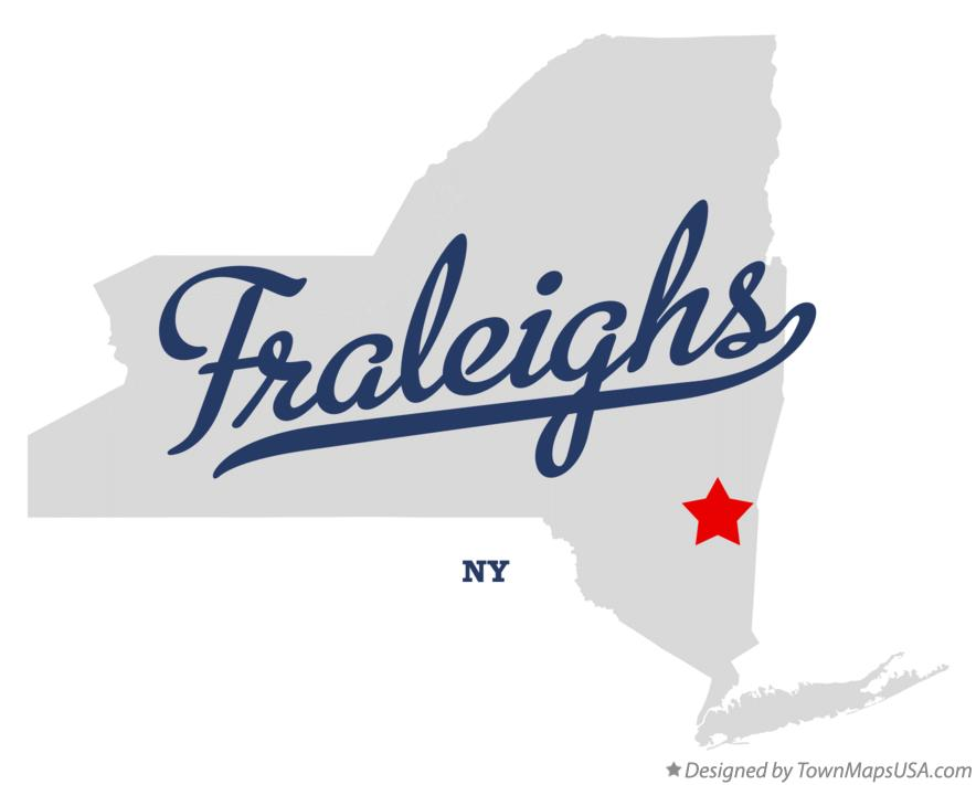 Map of Fraleighs New York NY