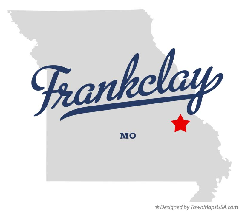 Map of Frankclay Missouri MO