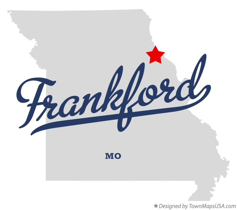 Map of Frankford Missouri MO
