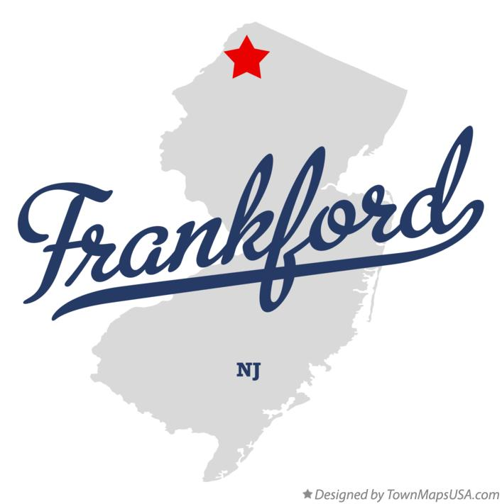 Map of Frankford New Jersey NJ