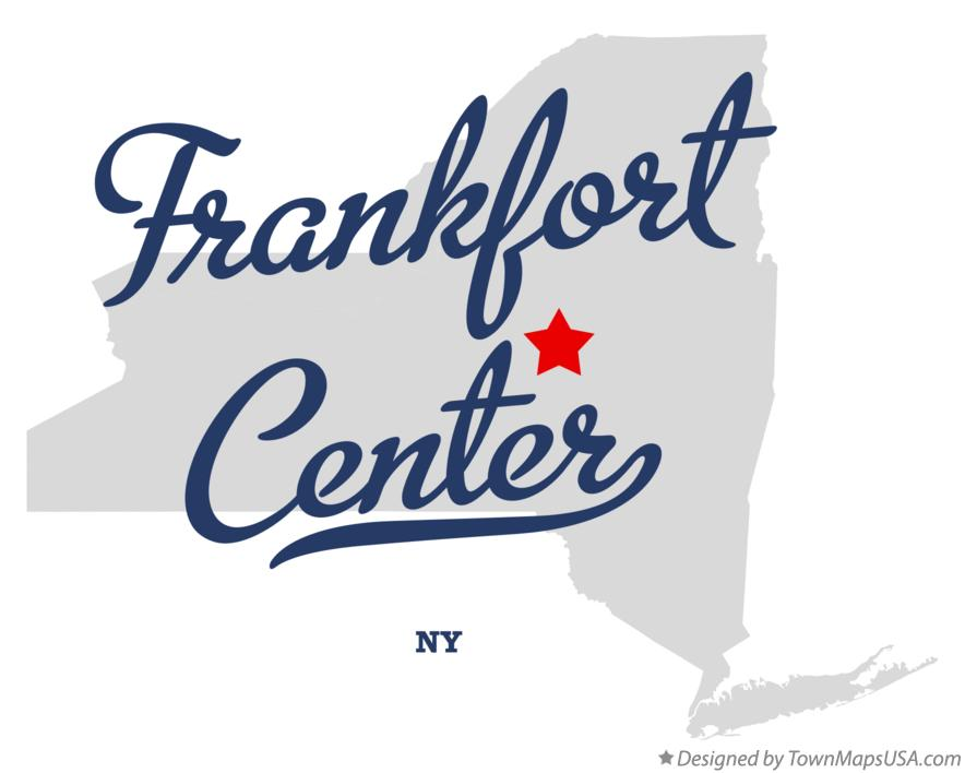 Map of Frankfort Center New York NY