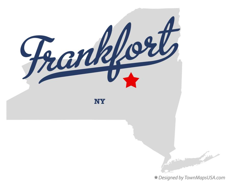 Map of Frankfort New York NY