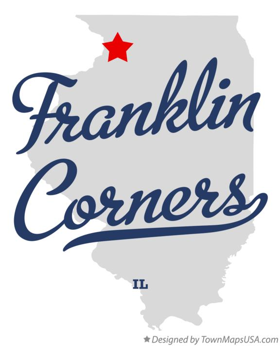 Map of Franklin Corners Illinois IL